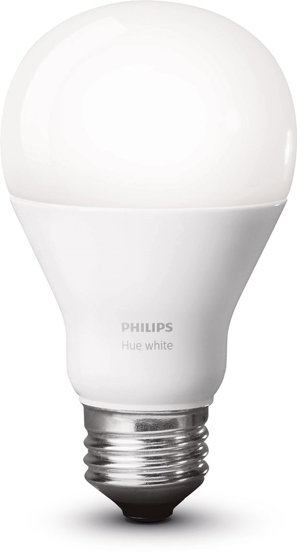 philips hue white 9 5w a60 e27 smart vit led lampa till philips hue system. Black Bedroom Furniture Sets. Home Design Ideas