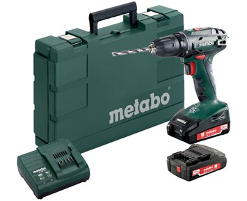 Metabo BS 18 2x18V 2 Ah Li-Ion