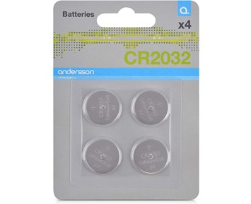 Andersson CR2032 battery 4pcs