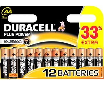 Duracell AA Plus 12-pack