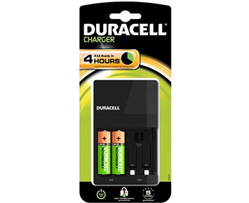 Duracell 4hr Charger
