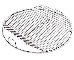 weber grillgaller 47cm 8414 grillgaller p 47 cm med uppvikta kanter. Black Bedroom Furniture Sets. Home Design Ideas