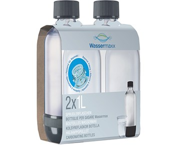 WasserMaxx WM Pet-flaskor 1L Duopack