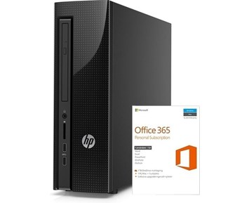 HP Slimline 260-a102no + Office