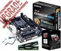 AMD A6 6400K+GA-F2A88XM-HD3+8GB C
