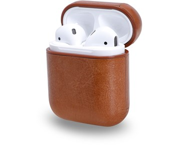 Andersson Airpods Case PU Leather Brown