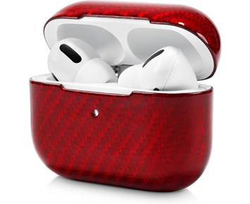 Andersson Airpods Pro Case Micro Fiber Glossy Red