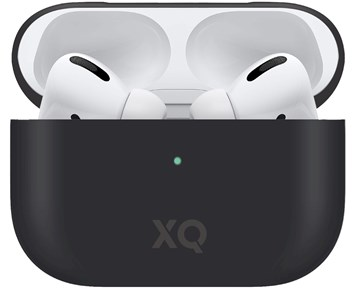 Xqisit Silicone Black Airpods Pro Case
