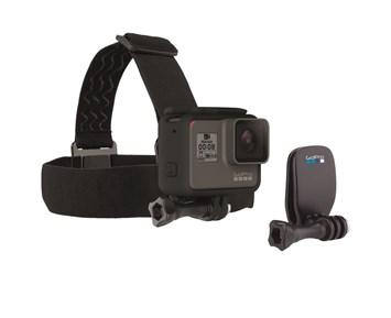GoPro Head Strap + QuickClip FA13