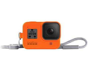 GoPro Sleeve + Lanyard (HERO8 Orange)