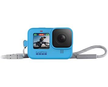 GoPro Sleeve + Lanyard (HERO9 Blue)