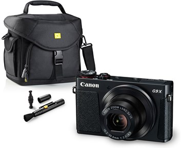Canon POWERSHOT G9 X + VÄSKA & CLEAN