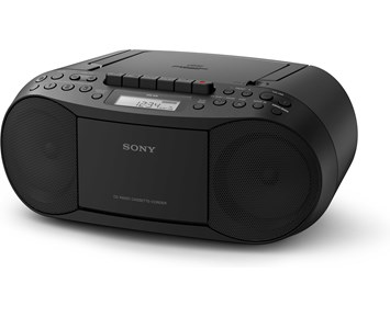 Sony CFD-S70 - Black