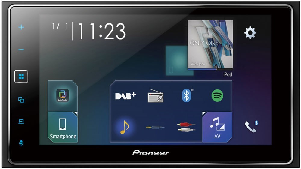 Fräscha Pioneer SPH-DA130DAB - Bilstereo med 6,2