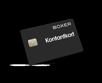 Boxer Kontantkort