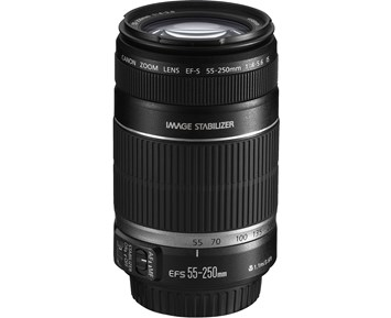 Canon EF-S 55-250MM IS STM F4-5,6 WB