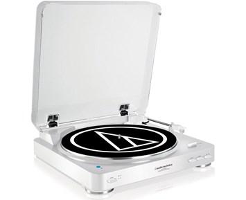 Audio Technica AT-LP60BT (White/Silver)
