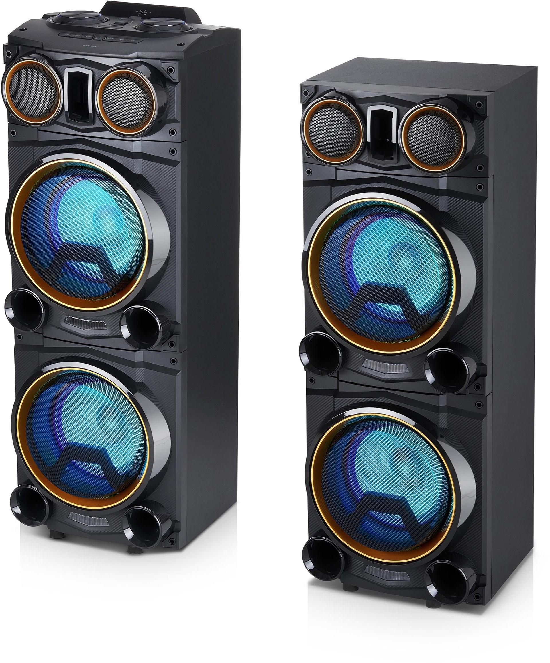 Unika Andersson PYB-6000 - Dubbla Bluetooth-högtalare för fest PK-26