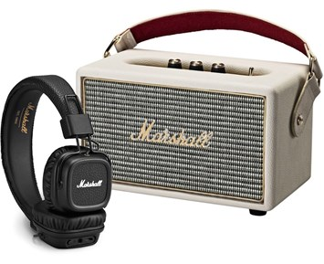 Marshall Kilburn Cream + Major II BT - Portabel högtalare med ... 3b2fa49efeba6