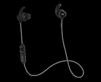 JBL Reflect Mini BT - Black. Trådlösa sporthörlurar med reflekterande kabel d1646b3595897