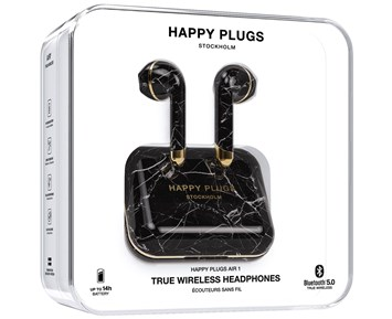 Happy Plugs Air1 Limited Edition - Black Marble