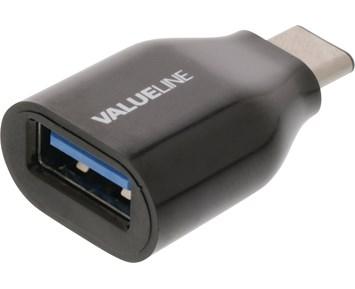 Valueline USB-A hona – USB-C hane