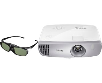 BenQ W1110S + 3D DGD5 - Hemmabioprojektor och 3D-glasögon 120182b01c6b9