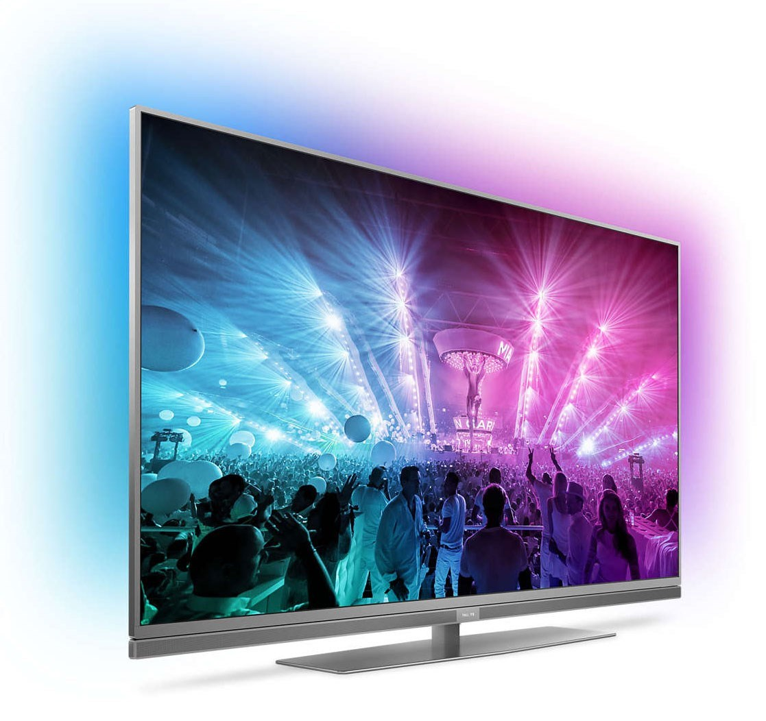 philips 55pus7181 55 smart tv med h ftig tresidig ambilight. Black Bedroom Furniture Sets. Home Design Ideas