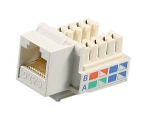 Deltaco Female RJ45 contact