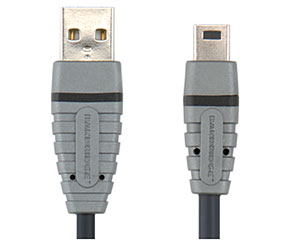 Bandridge USB-KABEL A-MINI 5P HANE 2,0M