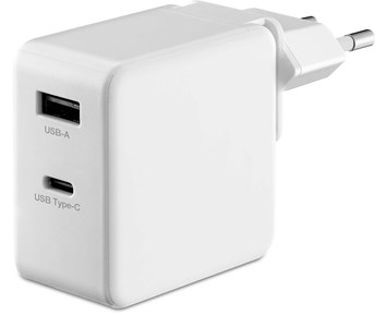 Andersson 65W GaN charger 2-ports white
