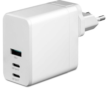 Andersson 90W GaN charger 3-ports white
