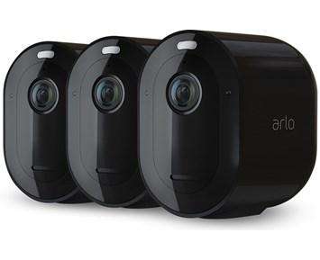 Arlo Pro 4 3-pack Svart