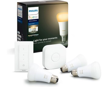 Philips HUE 8.5W A60 E27 EUR 3set White Ambiance