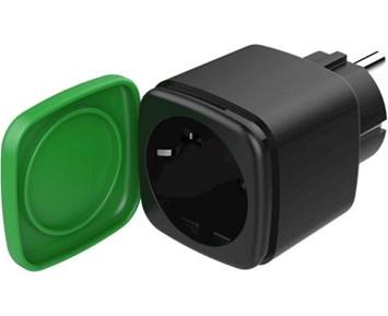 Deltaco Smart Outdoor Plug Energy Monitor Black