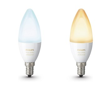 Philips Hue Bulbs B39 E14 White 2-set