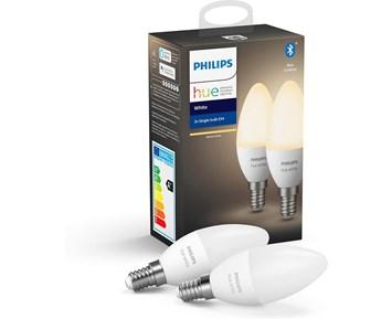 Philips Hue W 5.5W B39 E14 EU 2P