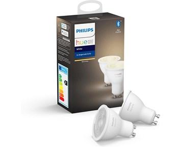 Philips Hue W 6W GU10 2P EU
