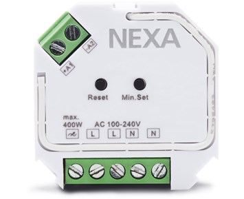 Nexa ZV-9101 with Dimmer