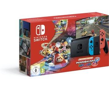 Nintendo Switch Incl Mario Kart DLC