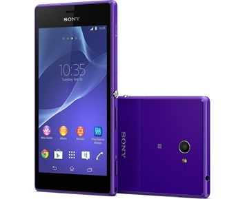 Sony Xperia M2 Purple