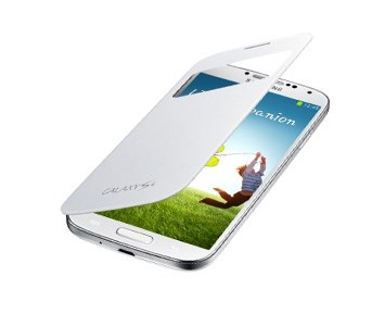 Samsung S-view Cover S4/S4+ White