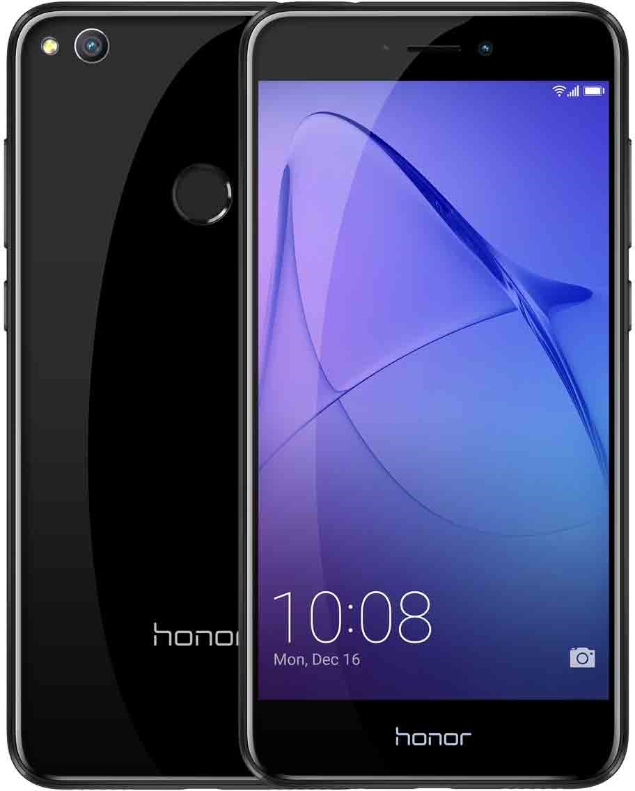huawei honor 8 lite dual sim black tunn och prisv rd smartphone med dubbla sim kort. Black Bedroom Furniture Sets. Home Design Ideas