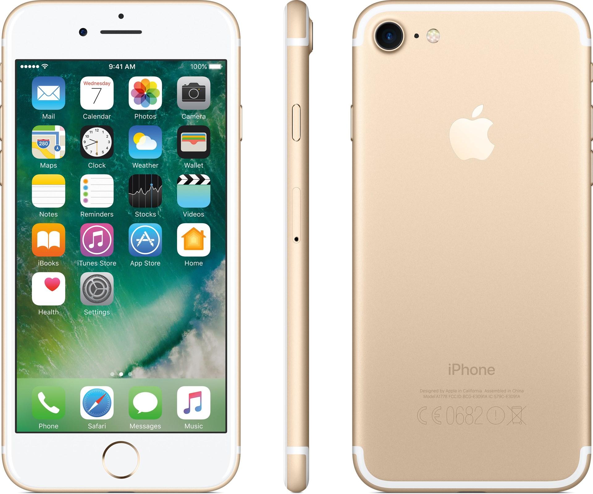 Apple iPhone 7 128GB Gold - iPhone 7 med imponerande prestanda