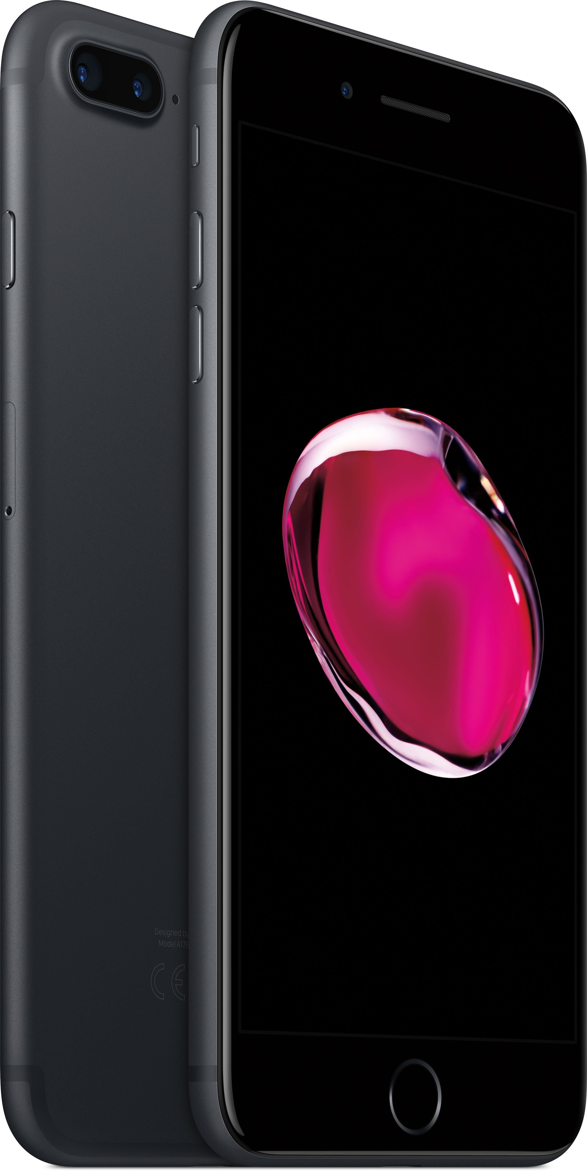 apple iphone 7 plus 32gb black iphone 7 plus nu nnu kraftfullare. Black Bedroom Furniture Sets. Home Design Ideas