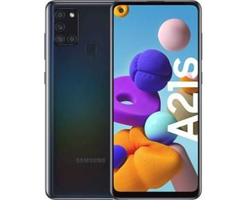 Samsung Galaxy A21s Black - Galaxy A21s med lång batteritid och fyra kameror