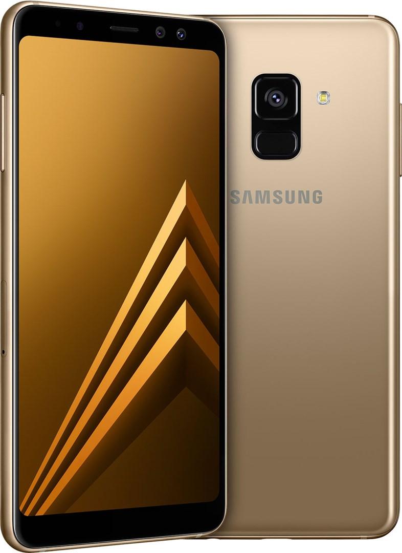 7a58fb242fdc9b Samsung Galaxy A8 Gold - Smartphone för nytta och nöje med dubbla  frontkameror
