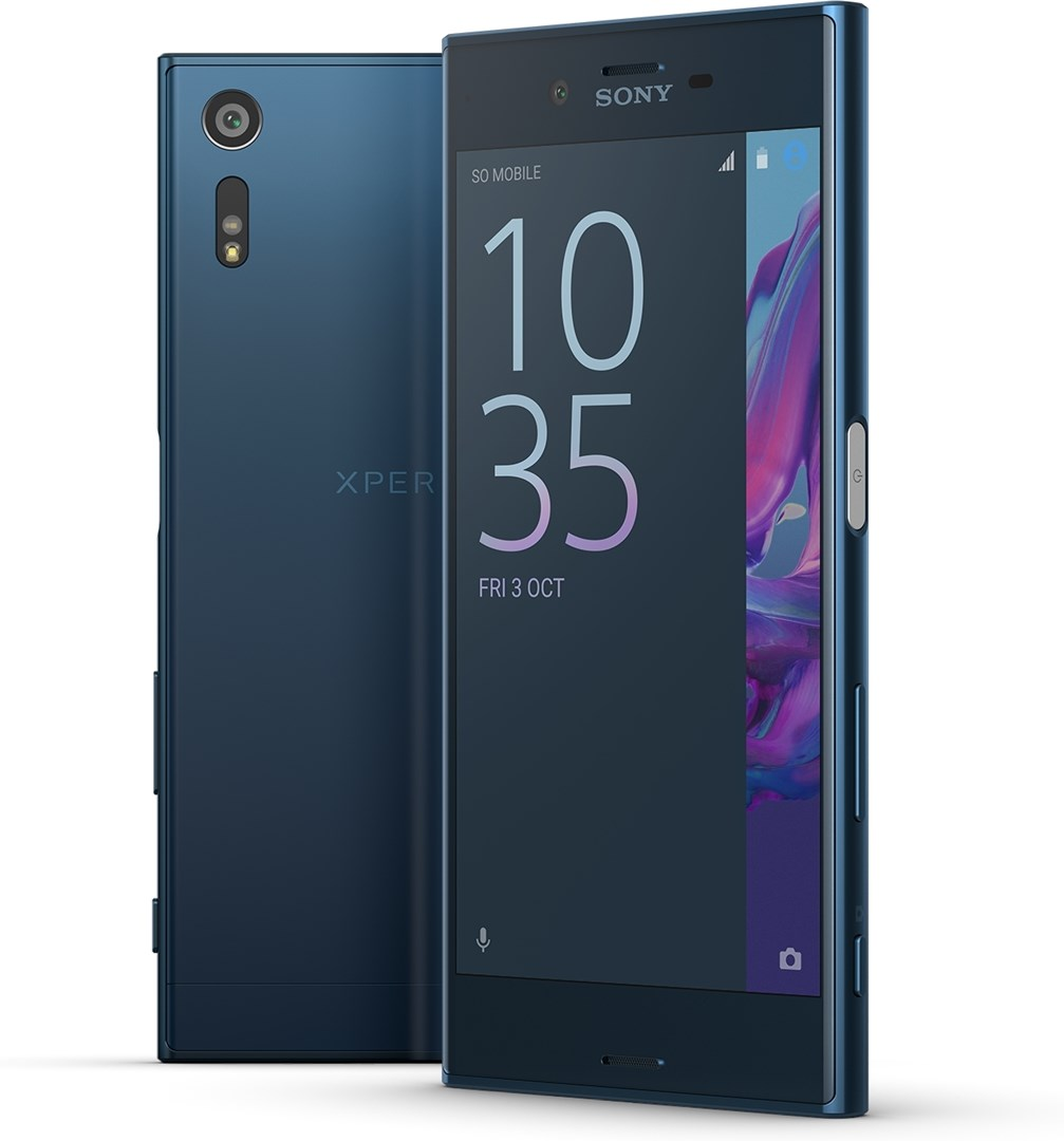 sony xperia xz forest blue kraftfulla xperia xz med 23. Black Bedroom Furniture Sets. Home Design Ideas