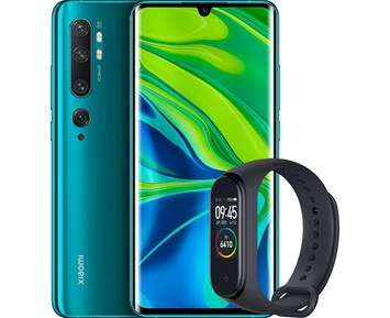 Xiaomi Mi Note 10 6+128GB Aurora Green incl. Mi Band 4