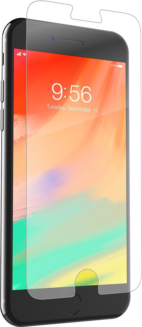 ZAGG InvisibleShield Glass+ iPhone 6 6s 7 8 Plus - Displayskydd i extremt härdat  glas till iPhone 8   7   6s   6 Plus d20834ccf48e6